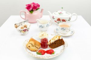afternoon tea plate