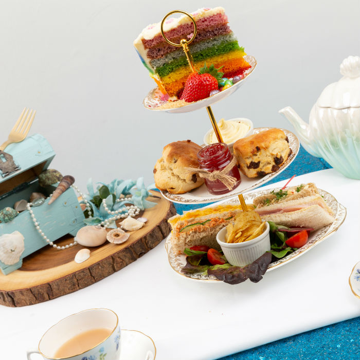 rainbow afternoon tea