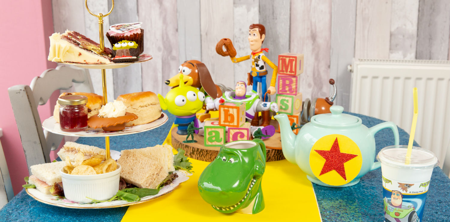 toy story afternoon tea