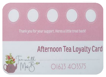 afternoon tea loyalty card 2